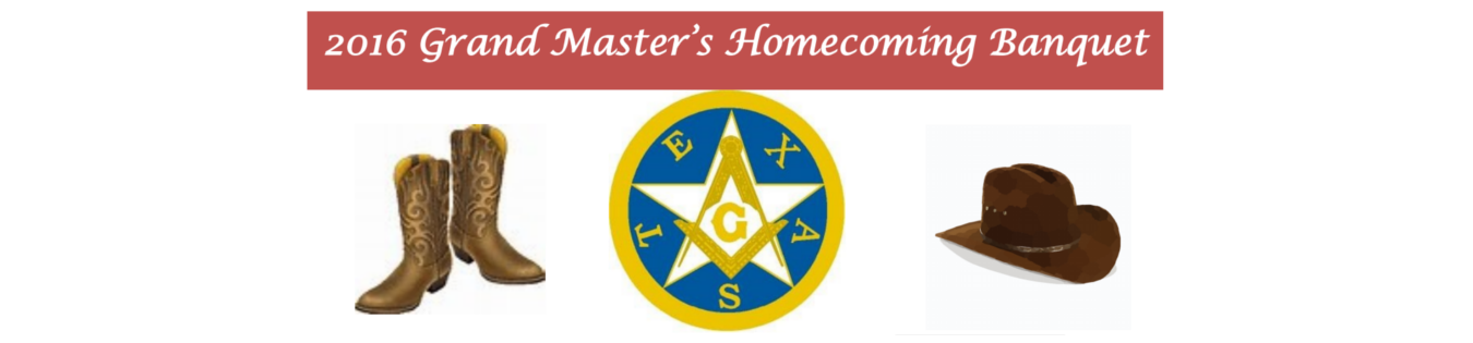 2016 Grand Master's Homecoming Banquet
