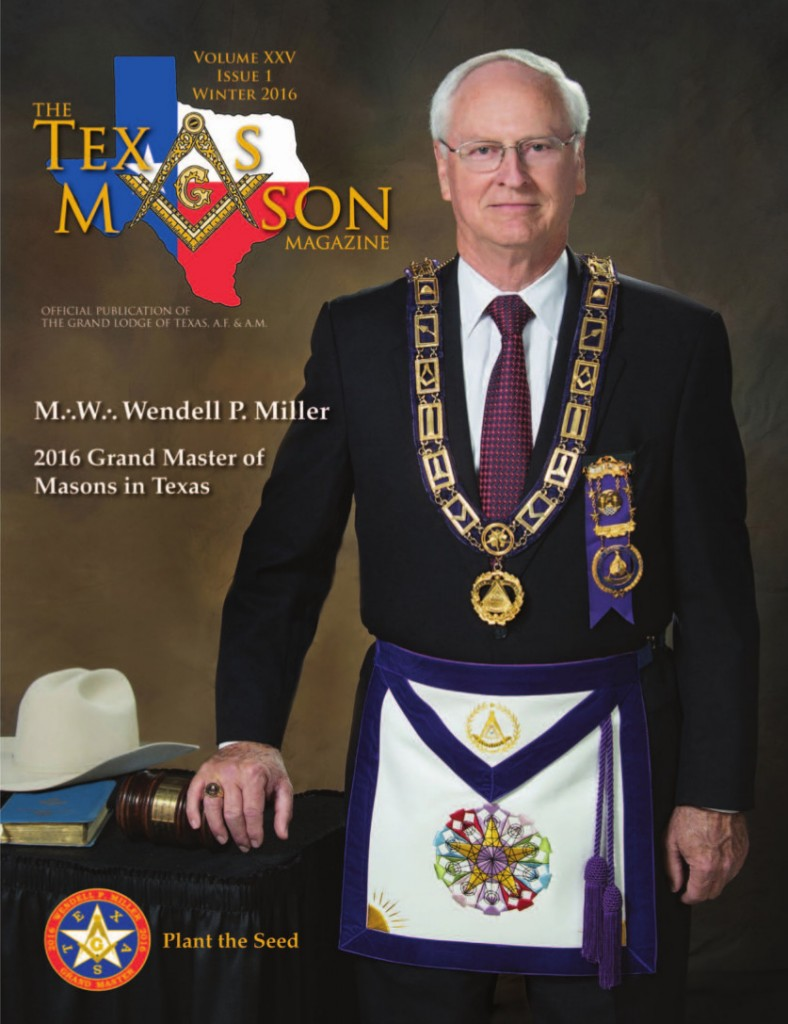 Texas Mason Magazine Vol XXV Issue 1 for web